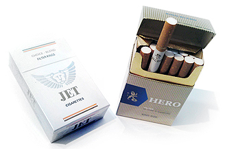 Jet and Hero Cigarettes, Vietnam