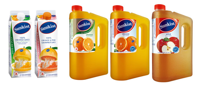 Sunkist Purely Squeezed Orange Juice